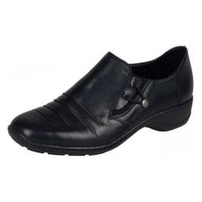 58353-00 Black Leather Shoe