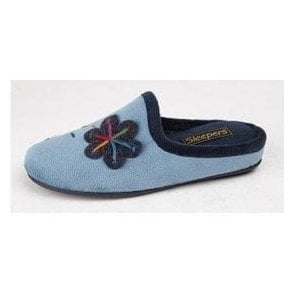 Theronda LS337 Patterned Mule Slipper