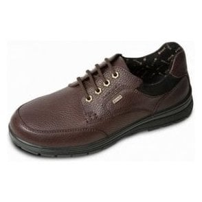 Terrain Brown Leather Waterproof Lace Shoe