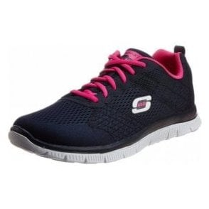 Flex Appeal - Obvious Choice Training Shoes Navy Fabric