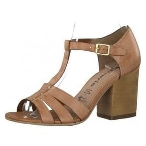 28349-26 Tan Leather Sandal