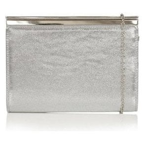 Hallmark Ida Silver Shimmer Clutch Bag