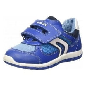 B Shaax B. D Royal Blue Velcro Boys Shoe
