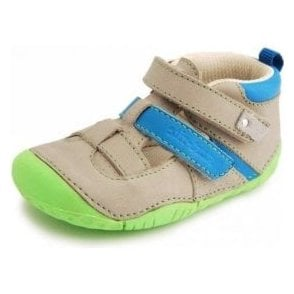 Start-rite Atoll Taupe Nubuck Boys Pre Walkers