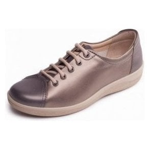Galaxy 2 Metallic Combi Leather Lace Up Shoe