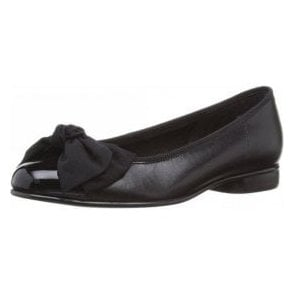 Amy 05.106.37 Black Patent / Leather Pump Shoe