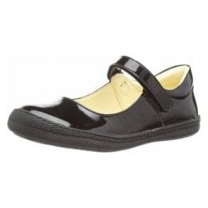 Morine 1-E Black Patent Girl's Shoe