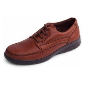 Fire Tan Leather Lace Shoe