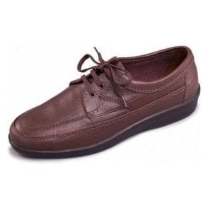 Griff Brown Leather Lace Shoe