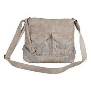 H1348-60 Cream Handbag