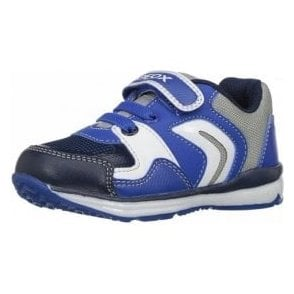 B Todo B Royal / Grey Boys Trainer