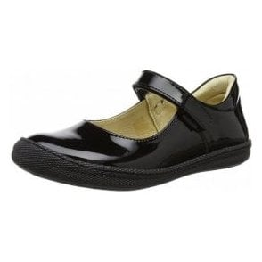 PTF 24322 Black Patent Girl's Shoe
