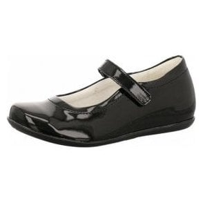 PFA 8204 Black Patent Girl's Shoe
