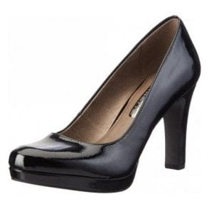 22426-29 Black Patent Court Shoe