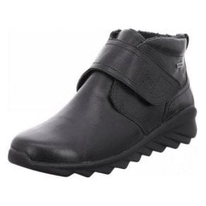 Vegas 01 Black Velcro Waterproof Boot