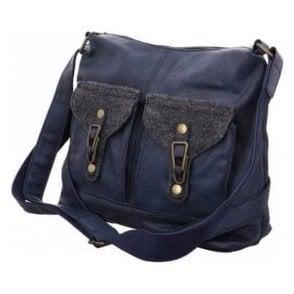 H1440-16 Navy Handbag
