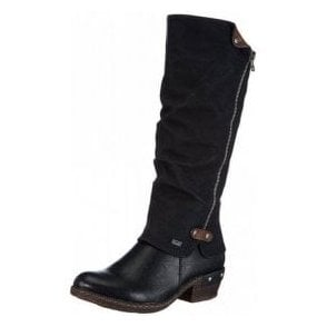 93655-00 Black Synthetic Warm Lined Water Resistant Boot