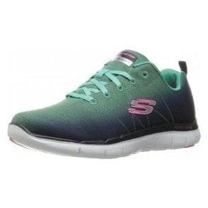 Flex Appeal 2.0 - Bright Side Navy / Aqua Fabric Training Shoes
