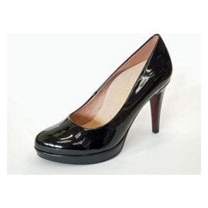 22414-29 Black Patent Court Shoe