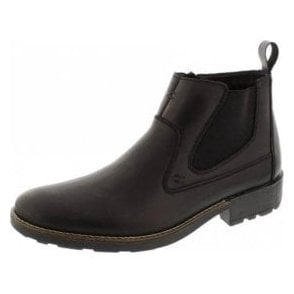 36062-00 Black Leather Men's Chelsea Boot