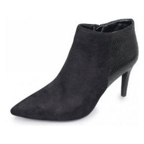 Harper GLE061 Black Ladies Ankle Boot