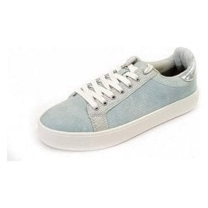 23724-20 Sky Blue Casual Lace Up Shoe