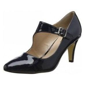 Laurana Navy Patent Court Shoe