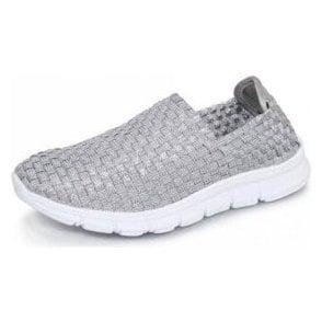 Maverick FLK014 Silver Elastic Shoe