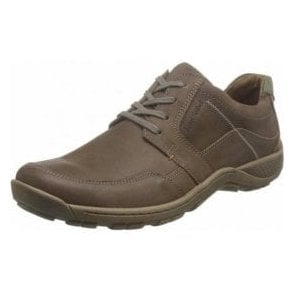 Nolan 32 Brown Leather Lace Shoe