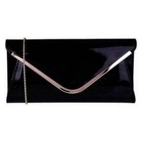 Sommerton Navy Shiny Clutch Bag