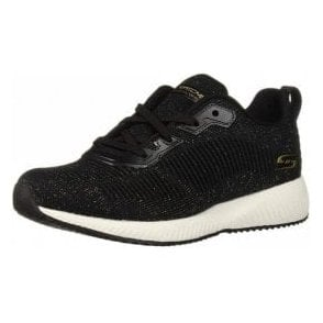 Skechers BOBS Sport Squad - Total Glam Black / Multi Fabric