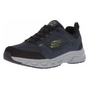 Relaxed Fit: Oak Canyon Navy / Lime Mens Trainer