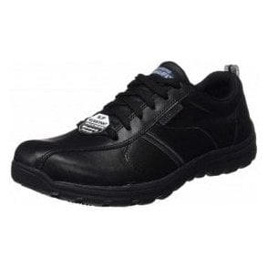Work Relaxed Fit®: Hobbes - Frat SR Black Mens Work Shoe