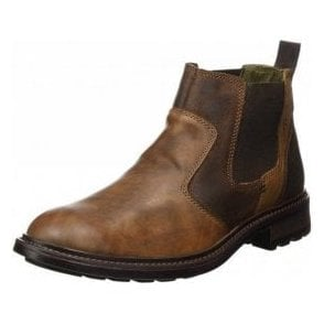 Oscar 29 Brasil Brown Leather Chelsea Boot
