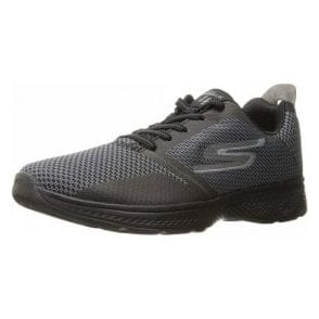 GOwalk 4 - Elect Grey / Black  Mens Trainer Shoe
