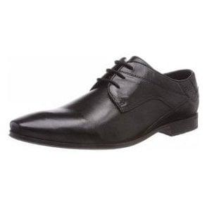 Bugatti Morino 311-42004 Black Leather Formal Lace Up Shoe