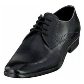 Bugatti Lando 311-29405 Dark Navy Leather Formal Lace Up Shoe