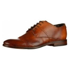 Lando 311-29404 Brown Leather Lace Up Shoe