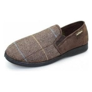 Harrison Brown Two Tone Full Slipper