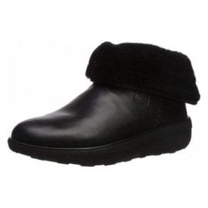 Mukluk Shorty 2 Black Leather Boot