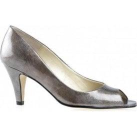 Danvers Metal Patent Peep Toe Shoe