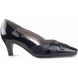 Nicolet Navy Patent Court Shoe