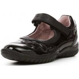 J Shadow B Black Patent Girls Shoe