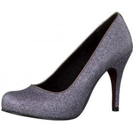 22418-29 Silver Sparkle Shoe