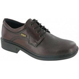 Sudeley Brown Leather Waterproof Lace Shoe