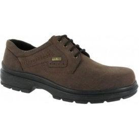Shipston Brown Nubuck Waterproof Lace Shoe