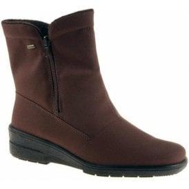 68591-07 Brown Waterproof Winter Boot