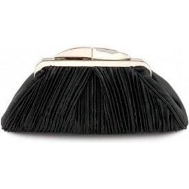 ZLV132 Black Satin Handbag