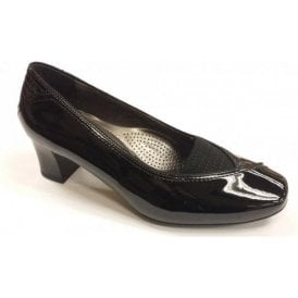 41716-01 Black Patent Shoe