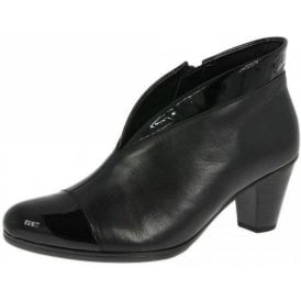 Enfield 95.616.97 Black Patent / leather Ankle Boot